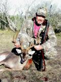 Yours truly with 2002 Season's buck.