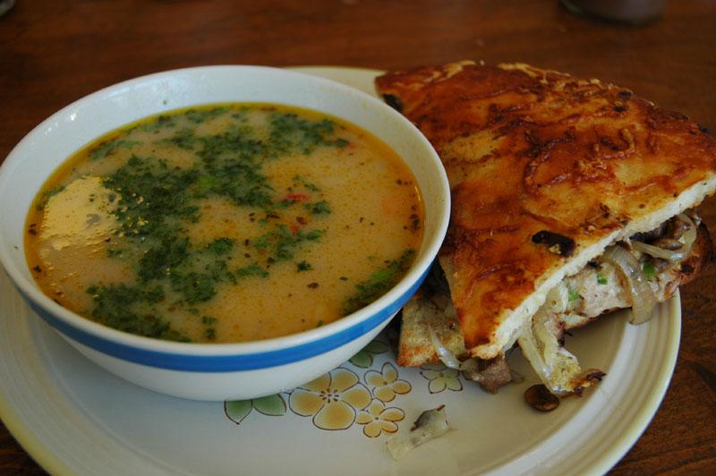 Soup and Sandwich at Toms Bouillon Soup DSC_0078.jpg