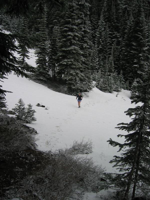 Big ass snow field