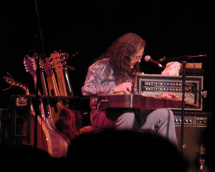 Man of many instruments