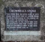 Explanation of Cromwell's Stone