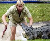 Steve Irvin at his Australia Zoo