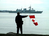 Canadian  & US Navy Ships