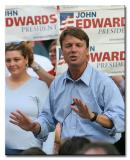 John Edwards campaign rally, Manchester NH Aug 20, 2003