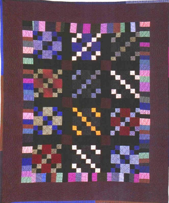 026:Nine Patch-midwest c. 1940  50x42