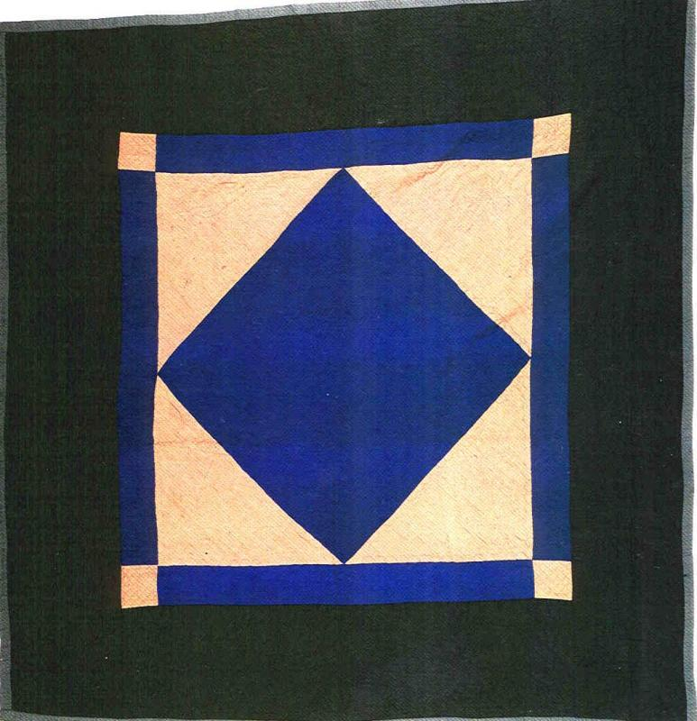 052:Center Diamond (1 of a pair)-Lancaster County,PA c.1930  77x77