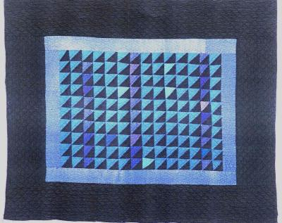 078:Triangles crib-Wisconsin c. 1920  41x33