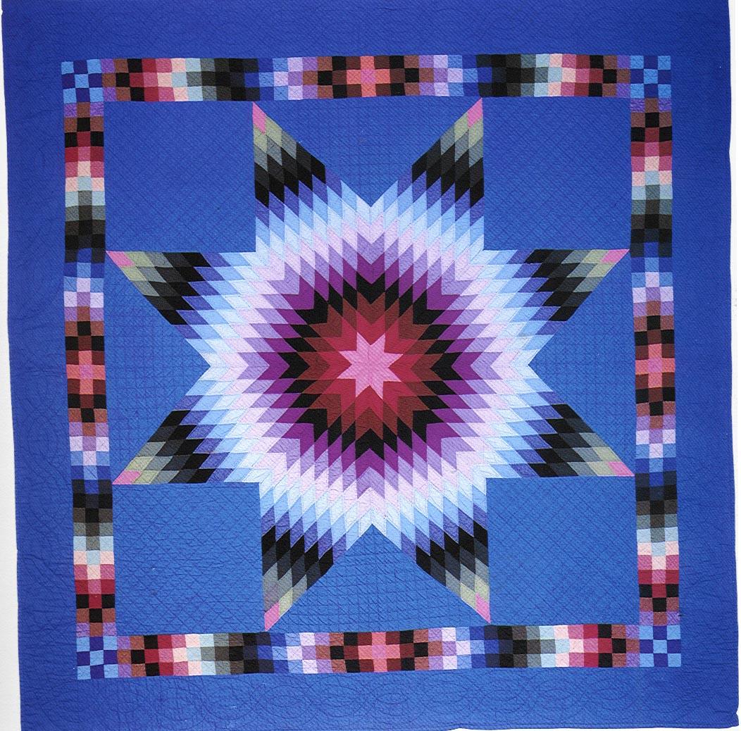 034:Lone Star-Lapp family-Smoketown ,PA  c.1930  81x80