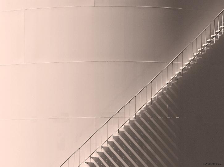Tank Stairway Shadows I