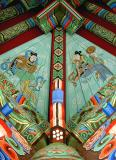 Buddhist Temple Bell Pavilion Roof