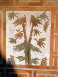 Bamboo on Palace Wall
