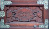 Buddhist Temple Door Panel - Dragon
