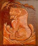 Buddhist Temple Tiger