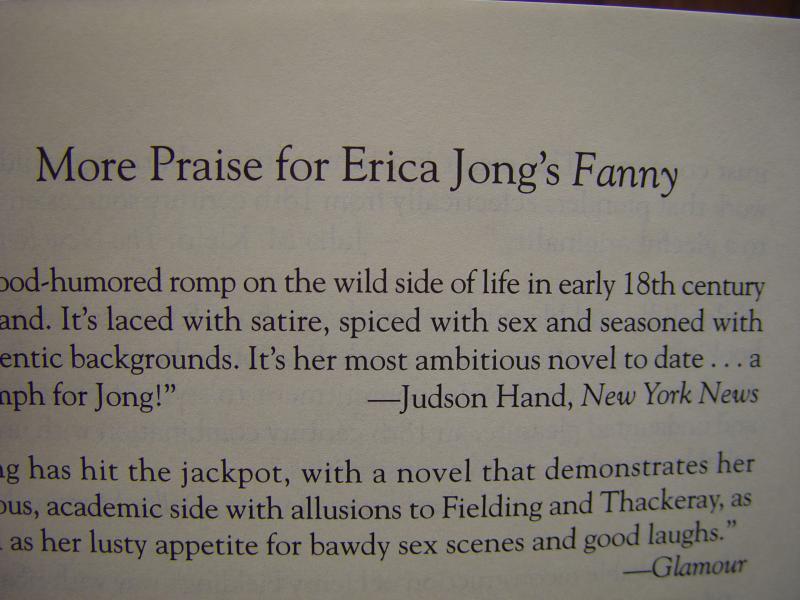 Erica Jongs Fanny