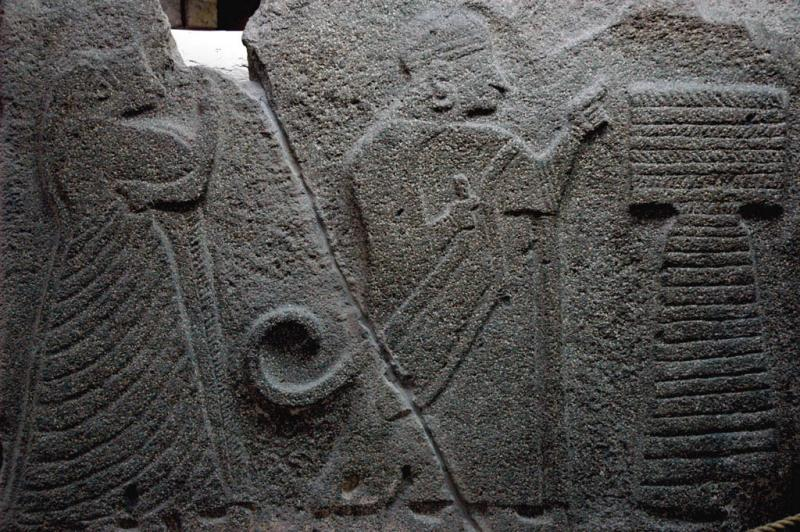 King and Queen offering to Museum Alacahöyük weather god