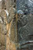 Goddess Kurbaba enthroned