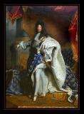 Louis XIV Roi de France ( 1701) par Rigaud