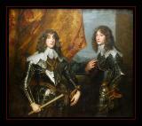 Portrait des Princes Palatins (1637) par antoon VAN DYCK