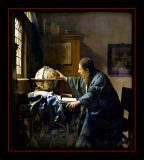 L' Astronome (1668) par Jan VERMEER