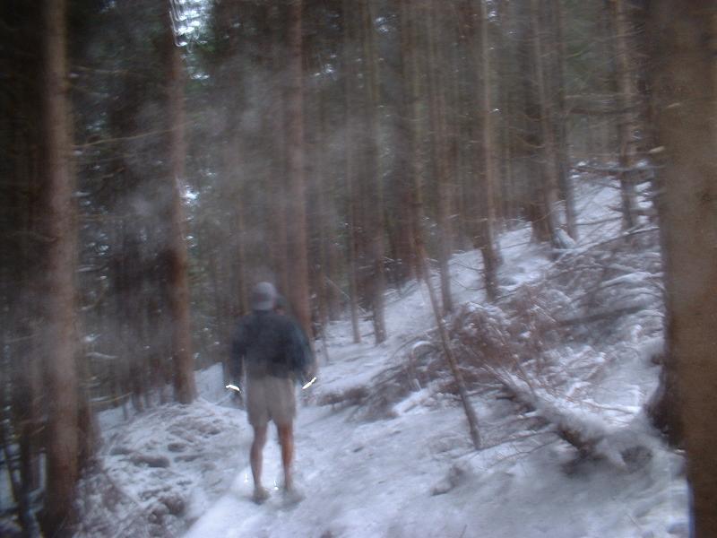 Glenn on NIER Bypass Trail