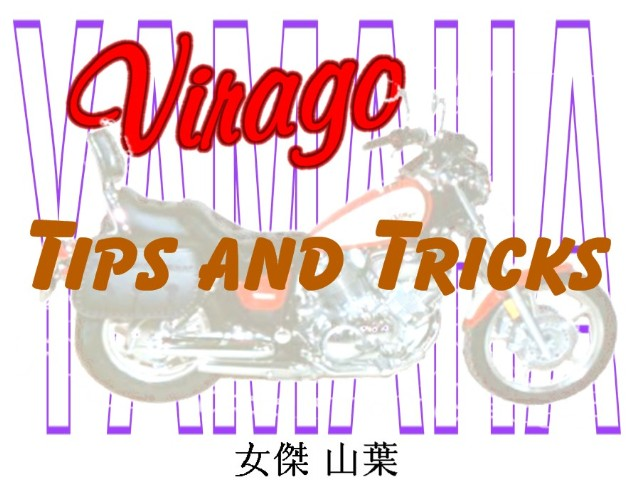 virago tips and tricks photo gallery by iamflagman at pbase com rh pbase com Yamaha Virago Motorcycles Yamaha Virago 750