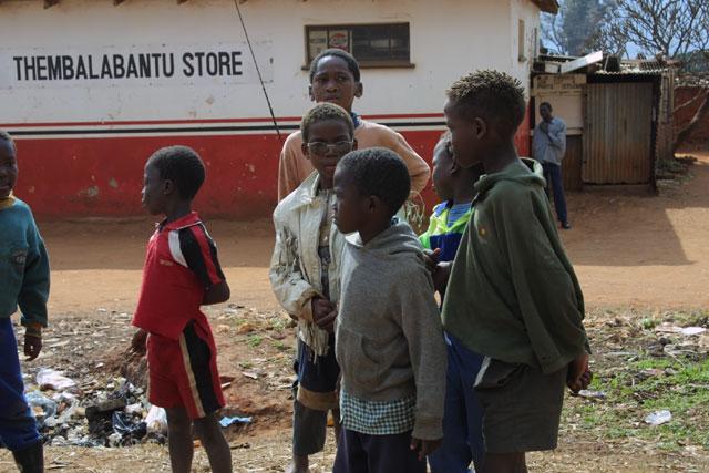 Children in Manzini