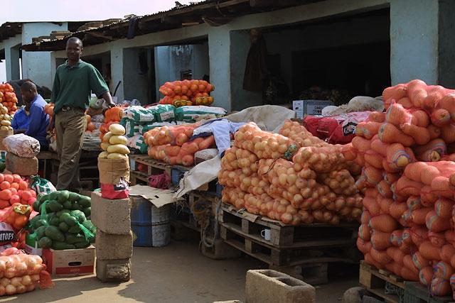Fruit market, Manzini