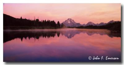 Tetons from Oxbow Bend