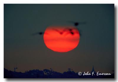 Sunrise at Bolsa Chica