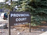 Provincial Court, Wainwright, Alberta
