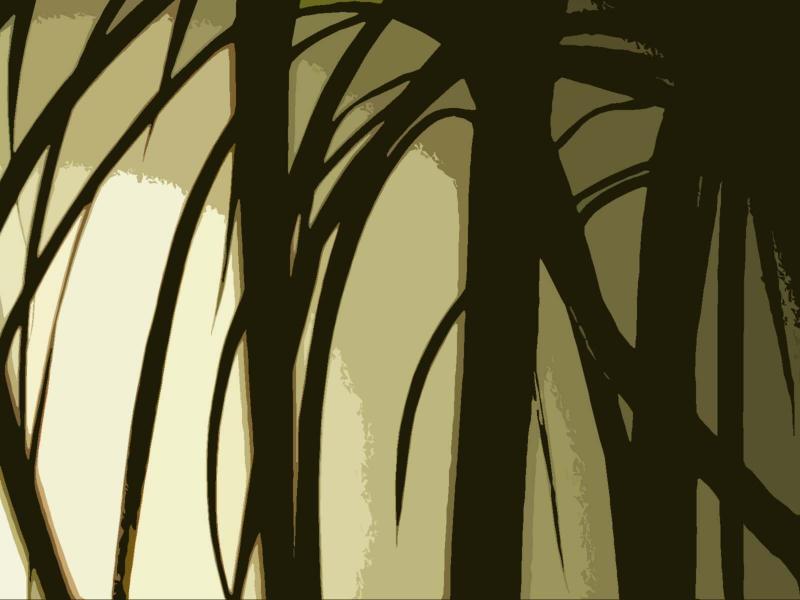 silhouettes mono
