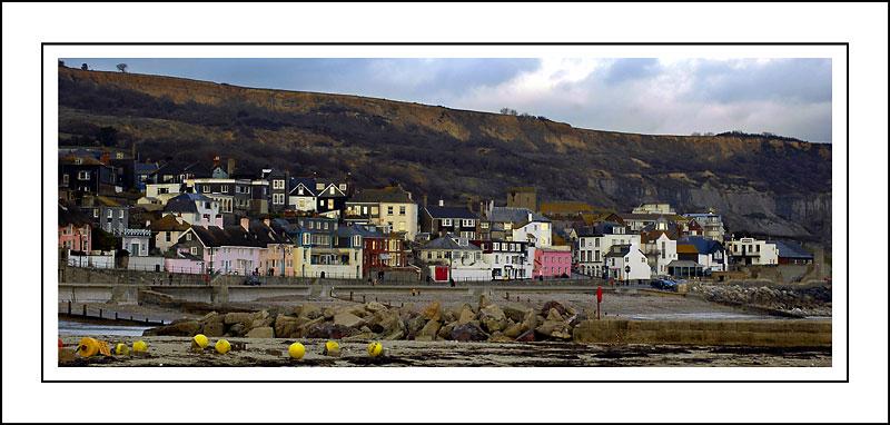 Sea-front, Lyme Regis