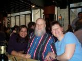 A farewell lunch for my coffee buddy Frank.