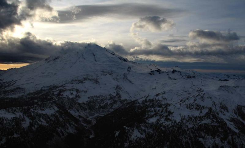 View W At Sunset (MtBaker110504-4adj.jpg)