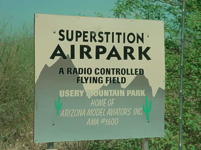 Superstition Airpark a radio controled flying field
