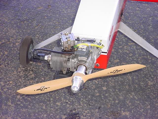 2 cycle airplane motor