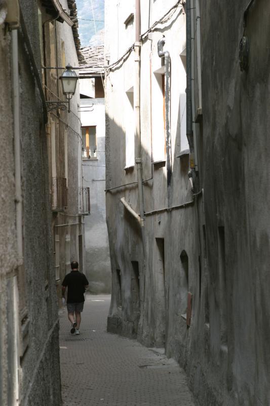 a small street
