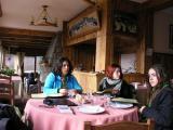 almuerzo en Pampa Linda