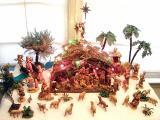 Front view of the scene, Christmas Season 2002.