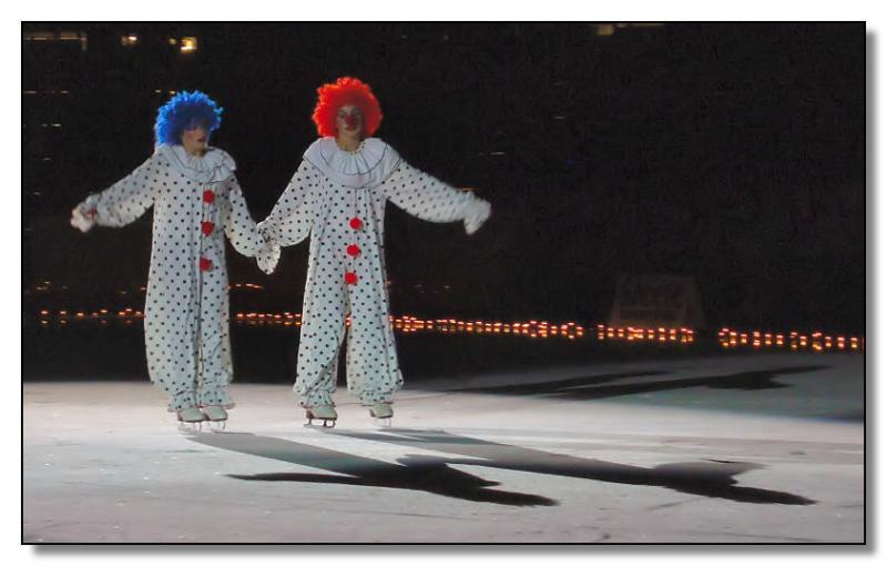 <B>Clowns on Ice</B> *