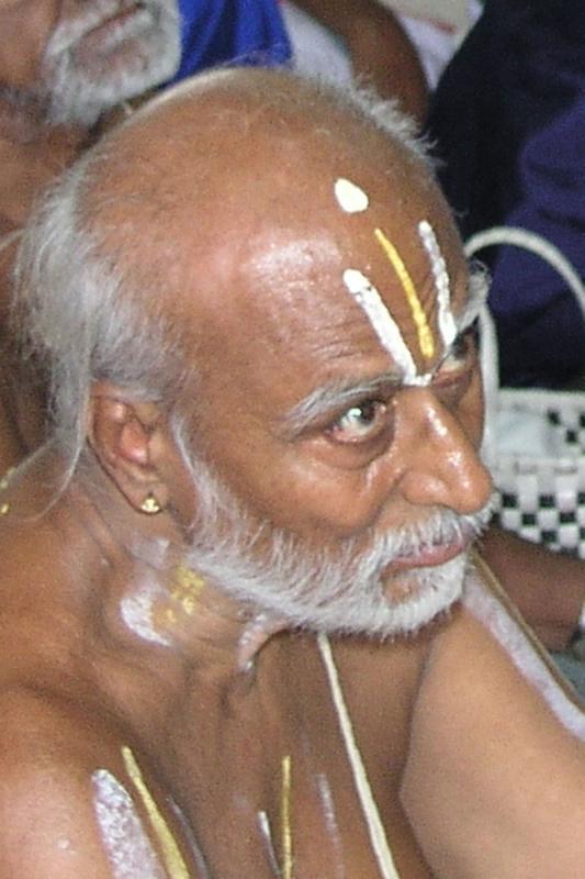 Vaikunthavaasi  Pudukottai Sri U.Ve. Seshadri swAmi