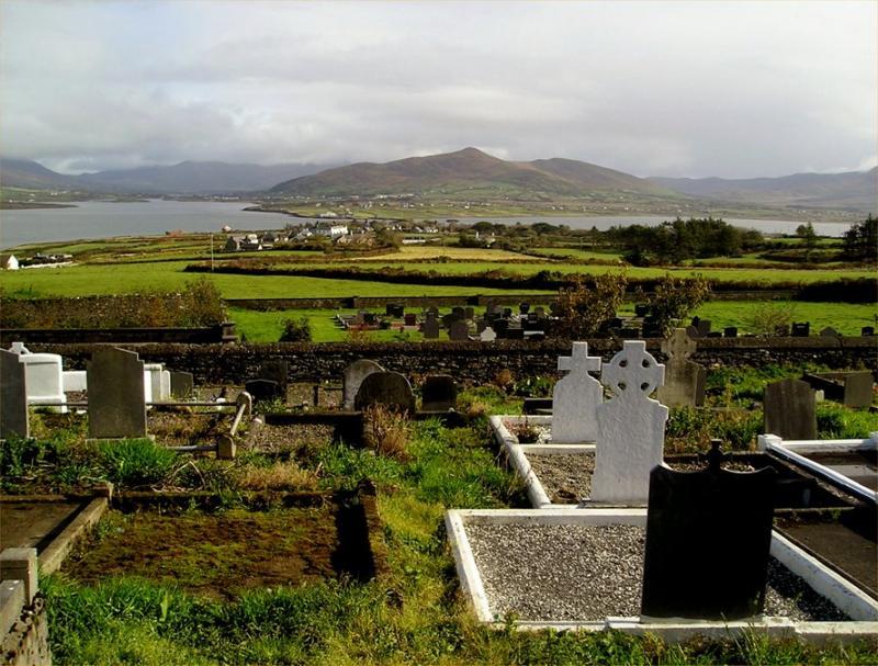 Valentia Island burial ground