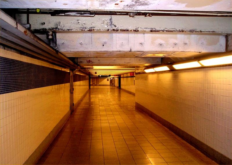 Late night at the Canal Street Station