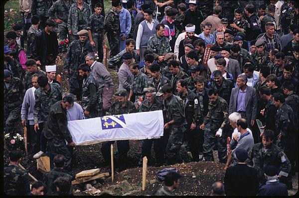 Soldiers funeral, Travnik