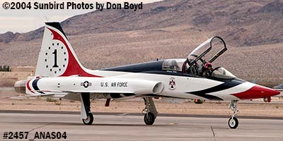 Ross Perots T-38A Talon N38MX (ex NASA N5784NA) at the 2004 Aviation Nation Air Show stock photo #2457