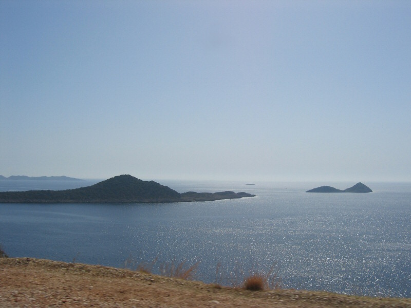 From the car, on way from Kas to Antalya