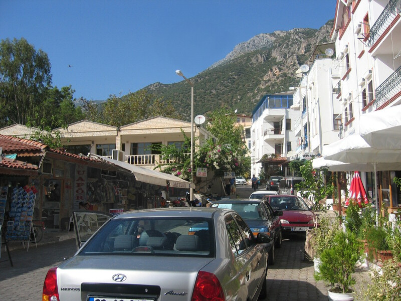Leaving Kas for old Myra (now Kale)