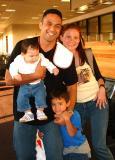 Mr. Aloha & Mrs. Hawaiian-Nate's 'Ohana bound for Kaua'i