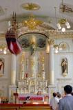 Dans l'église de Notre Dame des Victoires