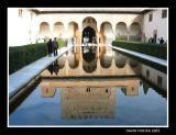 reflection - patio de comares